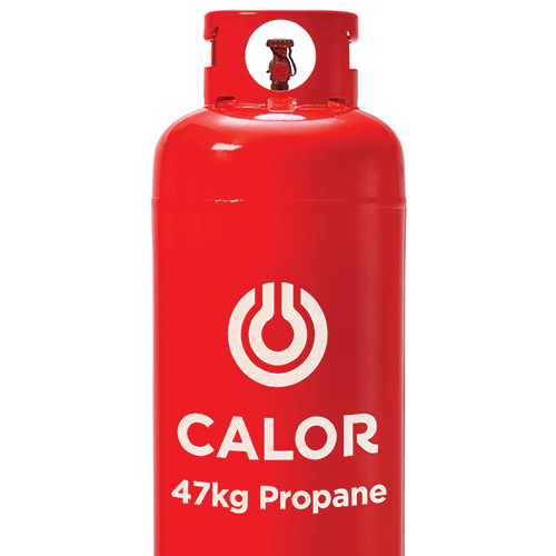 Calor Replacement No Empty Required FULL FloGas 47Kg Propane Gas Bottle